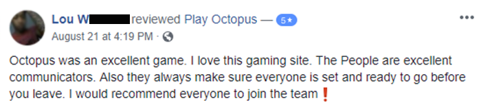 Play Octopus Review - Lou