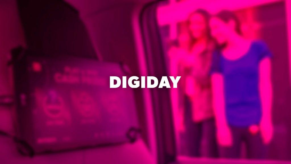 Digi Day logo over pink background