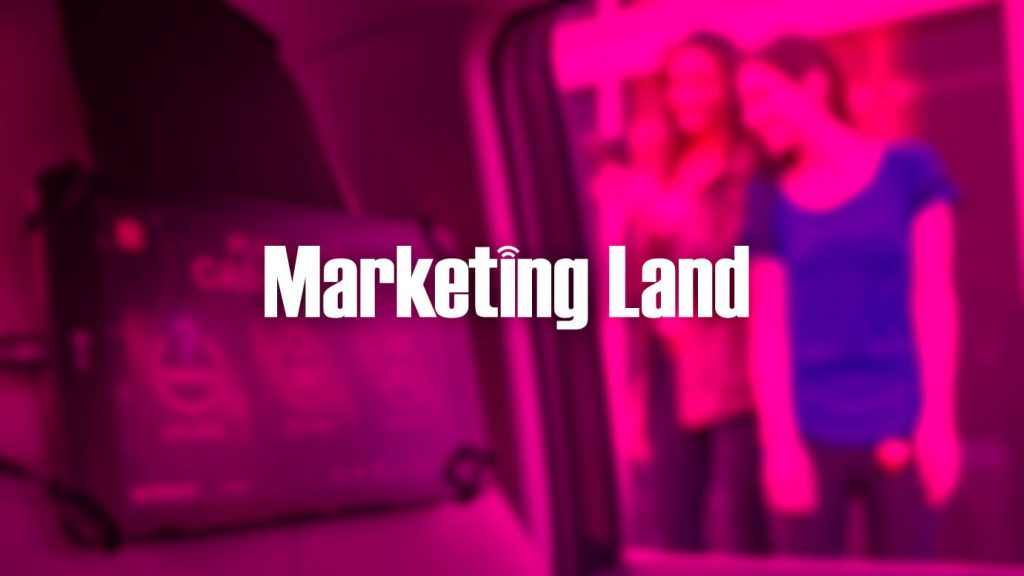 Marketing Land logo over pink background