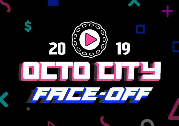 Octo city face off logo