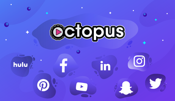 Octopus logo next to competing OOH companies
