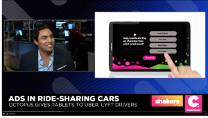 Image for Cheddar Inc. – This Startup Puts Games and Ads in the Back of Ubers post
