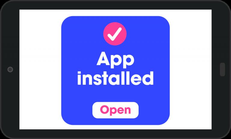 app installed