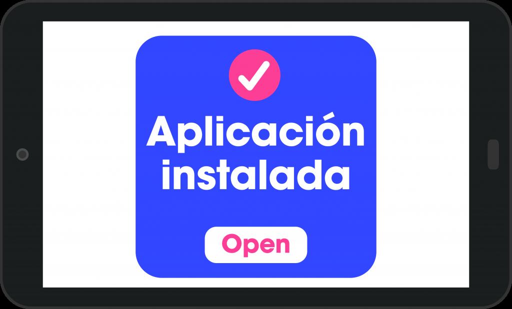 Aplicación instalado