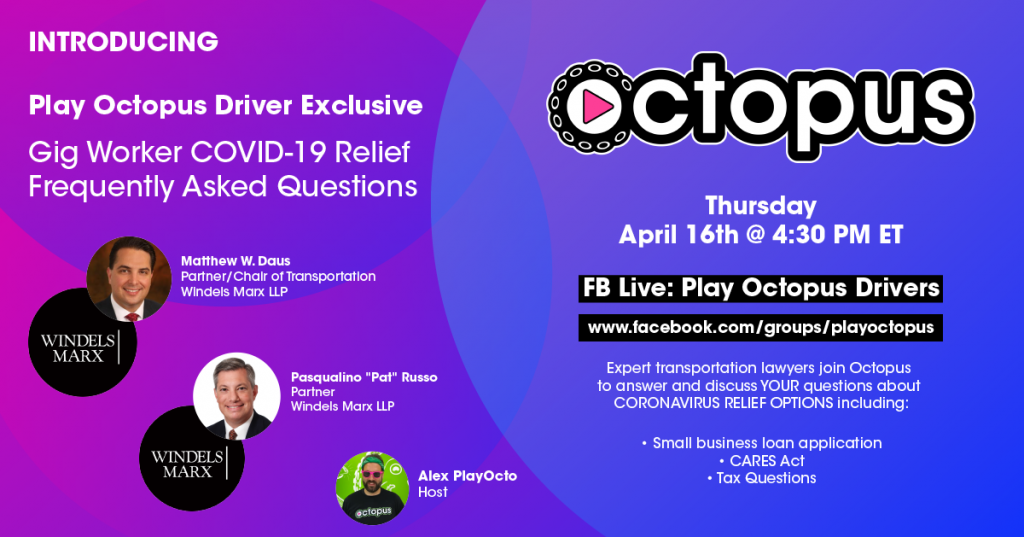Play Octopus is Hosting a COVID-19 Webinar