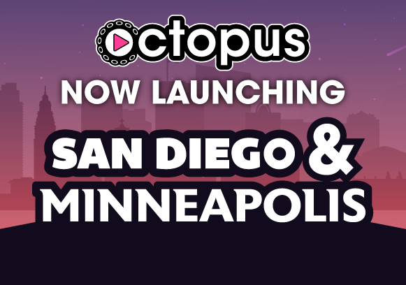 Now Launching San Diego and Minneapolis