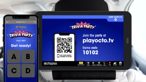 "Image for Octopus Interactive quickly adapts to the ""new normal"" with the launch of touchless trivia game post"